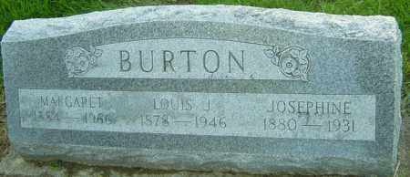 BURTON, LOUIS JAMES - Montgomery County, Ohio | LOUIS JAMES BURTON - Ohio Gravestone Photos