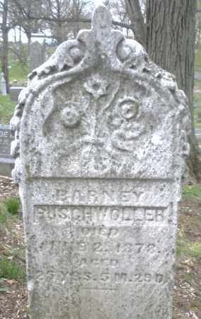 BUSCHWOLLER, BARNEY - Montgomery County, Ohio   BARNEY BUSCHWOLLER - Ohio Gravestone Photos