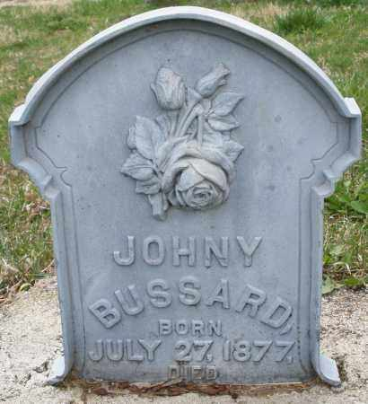 BUSSARD, JOHNY - Montgomery County, Ohio | JOHNY BUSSARD - Ohio Gravestone Photos