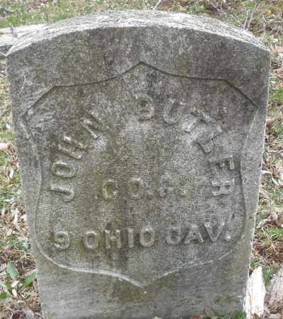 BUTLER, JOHN - Montgomery County, Ohio   JOHN BUTLER - Ohio Gravestone Photos