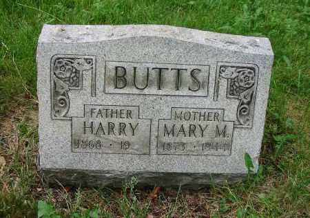 BUTTS, HARRY - Montgomery County, Ohio | HARRY BUTTS - Ohio Gravestone Photos