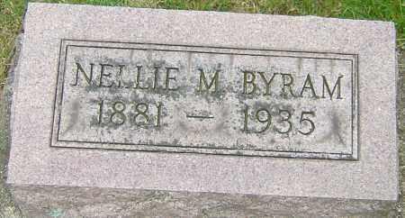 BYRAM, NELLIE MAE - Montgomery County, Ohio | NELLIE MAE BYRAM - Ohio Gravestone Photos