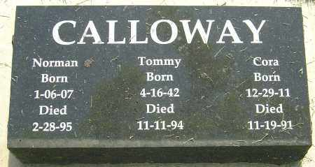 CALLOWAY, NORMAN - Montgomery County, Ohio | NORMAN CALLOWAY - Ohio Gravestone Photos