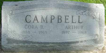 CAMPBELL, ARTHUR - Montgomery County, Ohio | ARTHUR CAMPBELL - Ohio Gravestone Photos