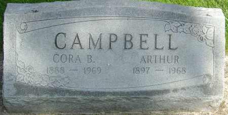 CAMPBELL, CORA B - Montgomery County, Ohio | CORA B CAMPBELL - Ohio Gravestone Photos