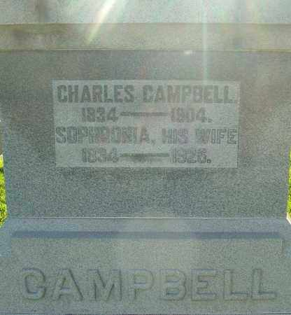 LAWSON CAMPBELL, SOPHRONIA - Montgomery County, Ohio | SOPHRONIA LAWSON CAMPBELL - Ohio Gravestone Photos