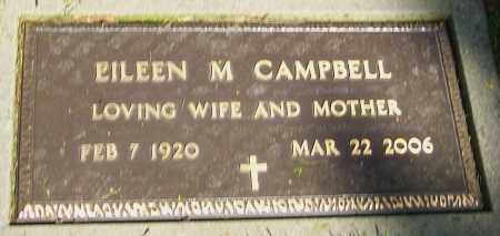 CAMPBELL, EILEEN M - Montgomery County, Ohio | EILEEN M CAMPBELL - Ohio Gravestone Photos