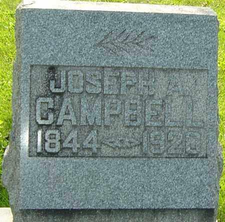 CAMPBELL, JOSEPH ALFRED - Montgomery County, Ohio | JOSEPH ALFRED CAMPBELL - Ohio Gravestone Photos