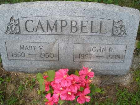 CAMPBELL, MARY V. - Montgomery County, Ohio | MARY V. CAMPBELL - Ohio Gravestone Photos