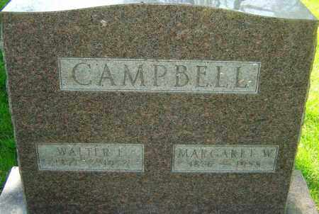 CAMPBELL, MARGARET - Montgomery County, Ohio | MARGARET CAMPBELL - Ohio Gravestone Photos