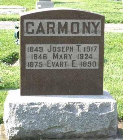CARMONY, EVART E. - Montgomery County, Ohio | EVART E. CARMONY - Ohio Gravestone Photos