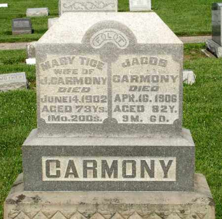 CARMONY, JACOB - Montgomery County, Ohio | JACOB CARMONY - Ohio Gravestone Photos
