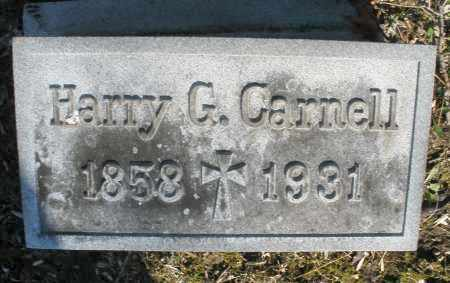 CARNELL, HARRY G. - Montgomery County, Ohio | HARRY G. CARNELL - Ohio Gravestone Photos