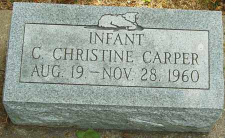 CARPER, C CHRISTINE - Montgomery County, Ohio | C CHRISTINE CARPER - Ohio Gravestone Photos