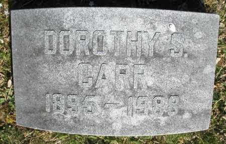 CARR, DOROTHY S. - Montgomery County, Ohio | DOROTHY S. CARR - Ohio Gravestone Photos
