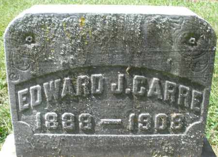 CARRE, EDWARD J. - Montgomery County, Ohio | EDWARD J. CARRE - Ohio Gravestone Photos