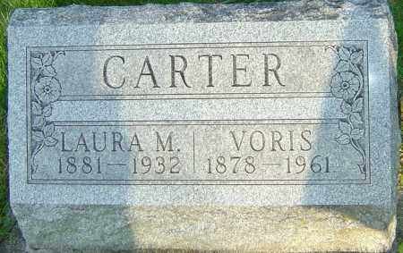 CARTER, LAURA M - Montgomery County, Ohio | LAURA M CARTER - Ohio Gravestone Photos