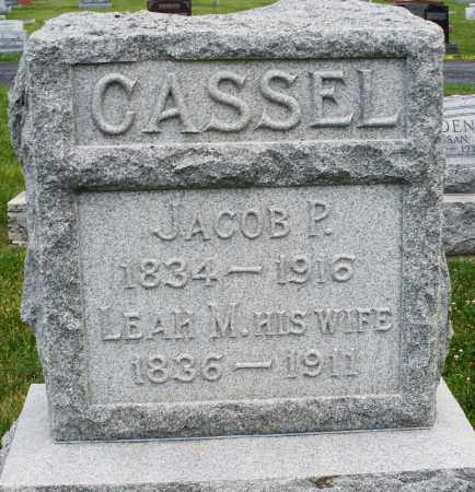 CASSEL, JACOB P. - Montgomery County, Ohio | JACOB P. CASSEL - Ohio Gravestone Photos