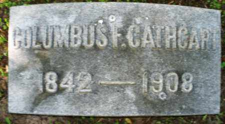 CATHCART, COLUMBUS F. - Montgomery County, Ohio | COLUMBUS F. CATHCART - Ohio Gravestone Photos