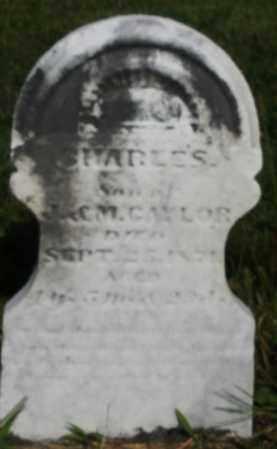 CAYLOR, CHARLES - Montgomery County, Ohio | CHARLES CAYLOR - Ohio Gravestone Photos