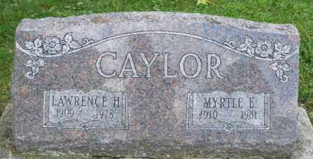 CAYLOR, LAWRENCE H. - Montgomery County, Ohio | LAWRENCE H. CAYLOR - Ohio Gravestone Photos