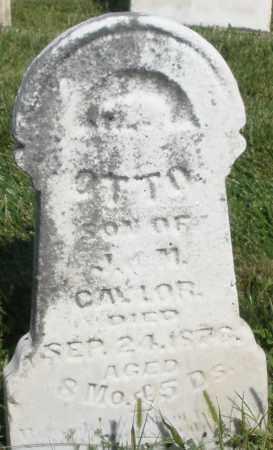 CAYLOR, OTTO - Montgomery County, Ohio | OTTO CAYLOR - Ohio Gravestone Photos