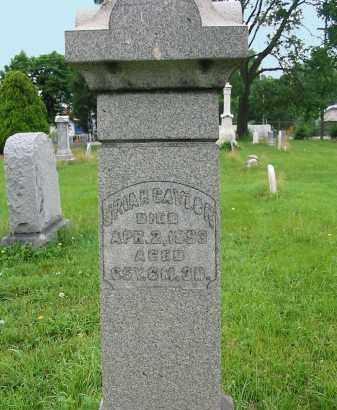 CAYLOR, URIAH - Montgomery County, Ohio | URIAH CAYLOR - Ohio Gravestone Photos