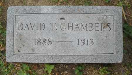 CHAMBERS, DAVID T. - Montgomery County, Ohio | DAVID T. CHAMBERS - Ohio Gravestone Photos