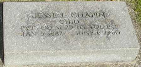 CHAPIN, JESSE L - Montgomery County, Ohio | JESSE L CHAPIN - Ohio Gravestone Photos