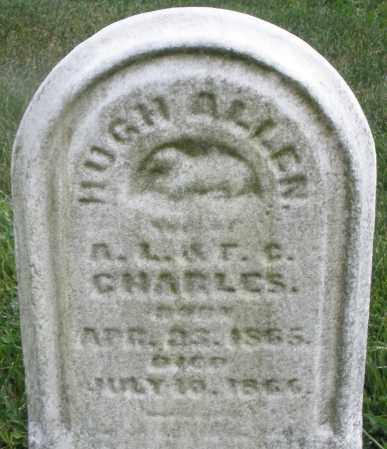 CHARLES, HUGH ALLEN - Montgomery County, Ohio | HUGH ALLEN CHARLES - Ohio Gravestone Photos
