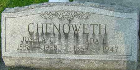 CLARK CHENOWETH, ADA LAVERNE - Montgomery County, Ohio | ADA LAVERNE CLARK CHENOWETH - Ohio Gravestone Photos