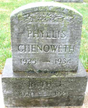CHENOWETH, RUTH J. - Montgomery County, Ohio | RUTH J. CHENOWETH - Ohio Gravestone Photos