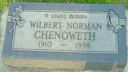 CHENOWETH, WILBERT NORMAN - Montgomery County, Ohio | WILBERT NORMAN CHENOWETH - Ohio Gravestone Photos