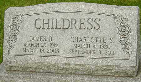 CHILDRESS, CHARLOTTE S - Montgomery County, Ohio | CHARLOTTE S CHILDRESS - Ohio Gravestone Photos