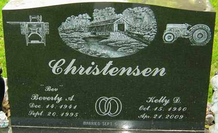 CHRISTENSEN, KELLY D - Montgomery County, Ohio | KELLY D CHRISTENSEN - Ohio Gravestone Photos
