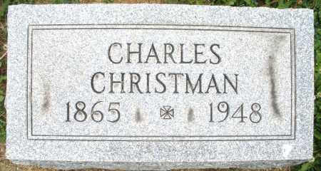 CHRISTMAN, CHARLES - Montgomery County, Ohio | CHARLES CHRISTMAN - Ohio Gravestone Photos