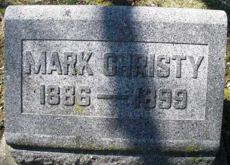 CHRISTY, MARK - Montgomery County, Ohio | MARK CHRISTY - Ohio Gravestone Photos