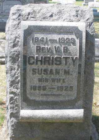 CHRISTY, SUSAN M. - Montgomery County, Ohio | SUSAN M. CHRISTY - Ohio Gravestone Photos