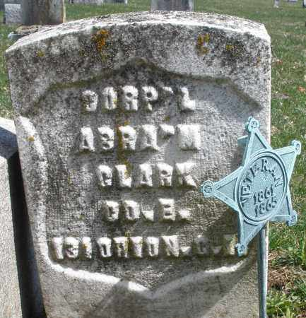 CLARK, ABRAHAM - Montgomery County, Ohio | ABRAHAM CLARK - Ohio Gravestone Photos