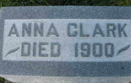 CLARK, ANNA - Montgomery County, Ohio | ANNA CLARK - Ohio Gravestone Photos