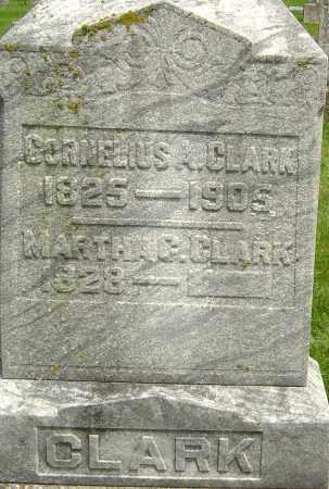 CLARK, CORNELIUS A - Montgomery County, Ohio | CORNELIUS A CLARK - Ohio Gravestone Photos