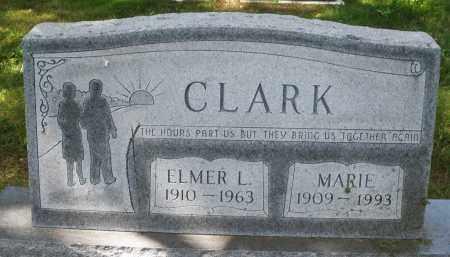 CLARK, ELMER L. - Montgomery County, Ohio | ELMER L. CLARK - Ohio Gravestone Photos