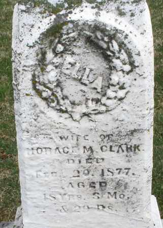 CLARK, ELLA - Montgomery County, Ohio | ELLA CLARK - Ohio Gravestone Photos