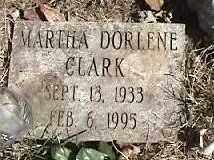 CLARK, MARTHA DORLENE - Montgomery County, Ohio | MARTHA DORLENE CLARK - Ohio Gravestone Photos