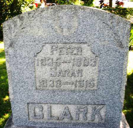 CLARK, SARAH - Montgomery County, Ohio | SARAH CLARK - Ohio Gravestone Photos