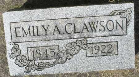 CLAWSON, EMILY A. - Montgomery County, Ohio | EMILY A. CLAWSON - Ohio Gravestone Photos
