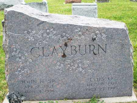 CLAYBURN, JOHN N. SR. - Montgomery County, Ohio | JOHN N. SR. CLAYBURN - Ohio Gravestone Photos