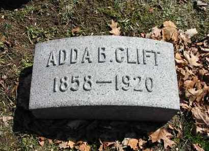 CLIFT, ADDA B. - Montgomery County, Ohio | ADDA B. CLIFT - Ohio Gravestone Photos
