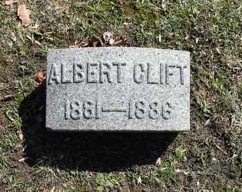 CLIFT, ALBERT - Montgomery County, Ohio | ALBERT CLIFT - Ohio Gravestone Photos