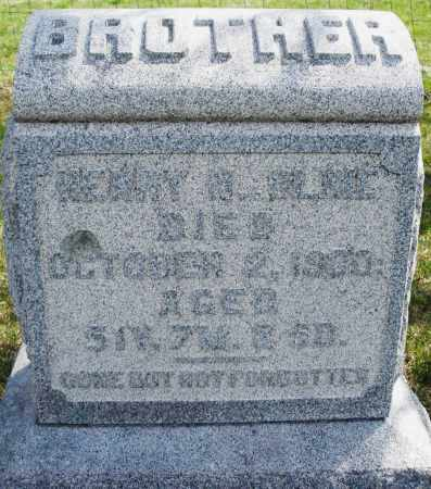 CLINE, HENRY - Montgomery County, Ohio | HENRY CLINE - Ohio Gravestone Photos